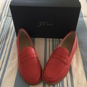 J.CREW-RYAN PENNY LOAFERS Leather